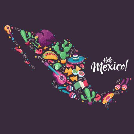 Hola mexico poster