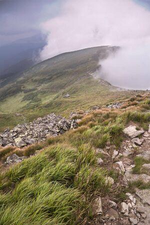 mist from the ridge