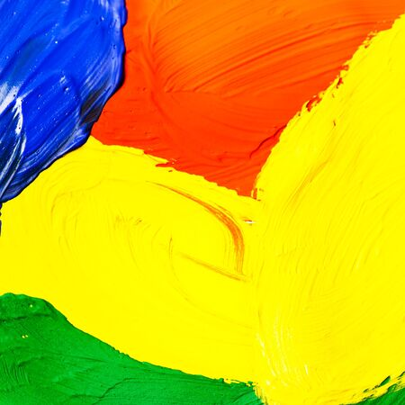 Paint brushes colorful background texture