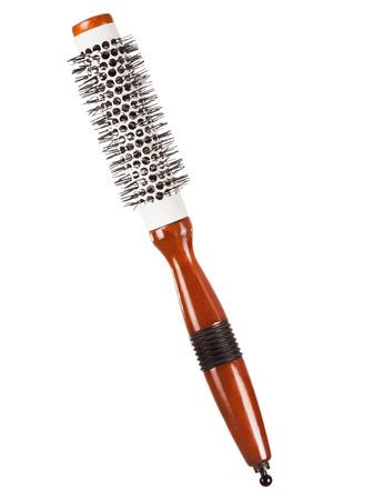 Round professional hairbrush