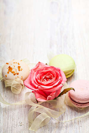 Rose and sweets valentine light  background