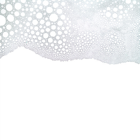 Foam bubbles abstract white texture background
