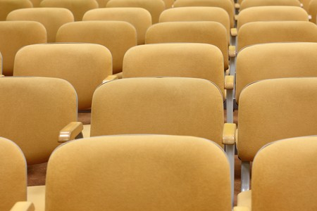 conference - rows of empty seats texture
