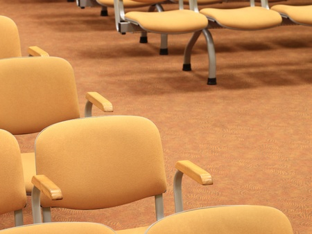 conference - rows of empty seats texture  photo