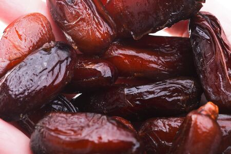 dates fruit: Dried date fruits background texture