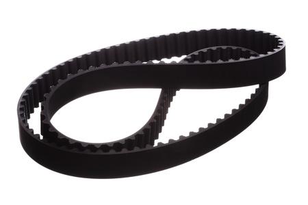 belt: belt car engine isolated white background