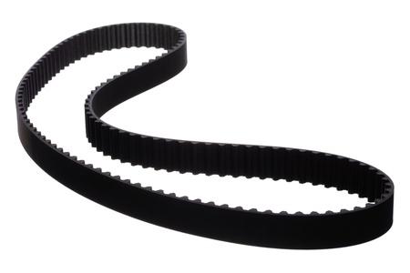 belt car engine isolated white background