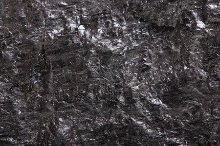 Piece coal closeup macro texture background Stock Photo - 14713455