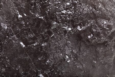 Piece coal closeup macro texture background photo