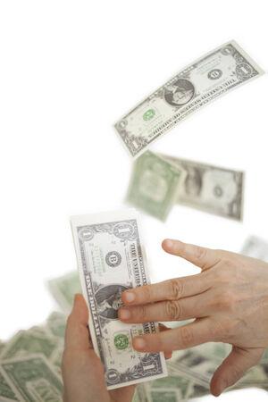 spending money: spending money Stock Photo
