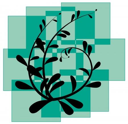 Plant Silhouette Illustration