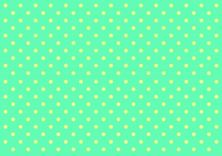 yellow dot on green background photo