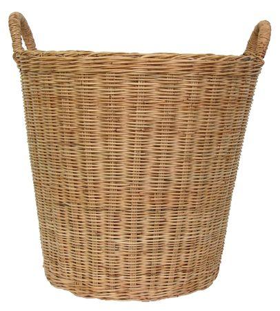 Basket wicker Archivio Fotografico