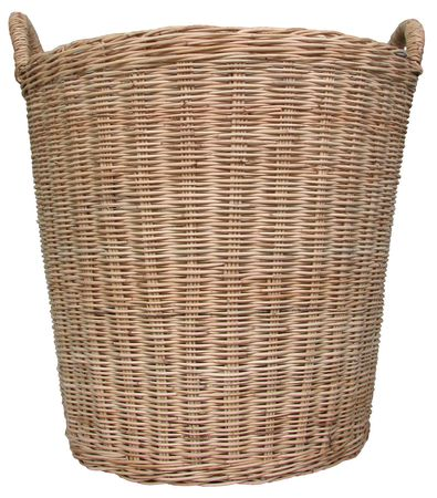 Basket wicker is handmade in Thailand. Stock Photo - 8005791