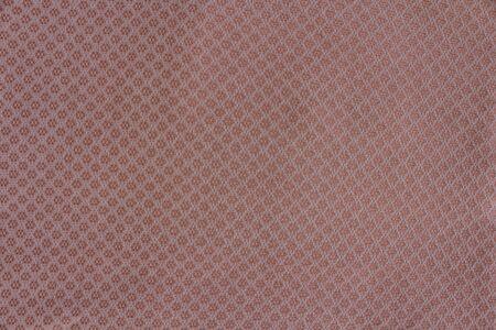 Background of Thai handmade fabric pattern Stock Photo