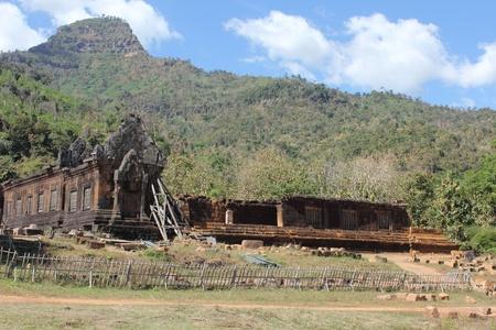 Vat Phu-World heritage site, Pakse City, Champasak Province, Laos