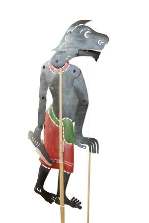 puppet woman: Joker famoso teatro de sombras de Tailandia en el sur de Tailandia, Nang Talung o jugar tailand�s sombra, espect�culos tradicionales tailandeses, Teatro de sombras en el sur de Tailandia pidi� Nang Talung, Nang t�teres Talung son normalmente de cuero de vaca