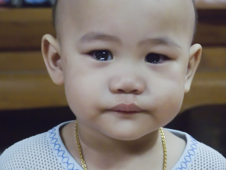 Little Boy Crying photo