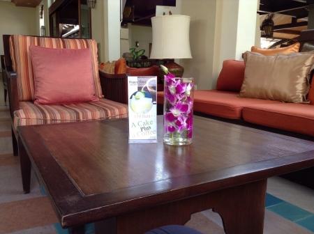 pillows: Table set Stock Photo