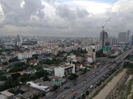 bangkok city: Cityscape of Bangkok city the capital of Thailand Stock Photo