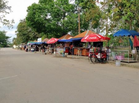 thai people: Thai people shopping food at street market