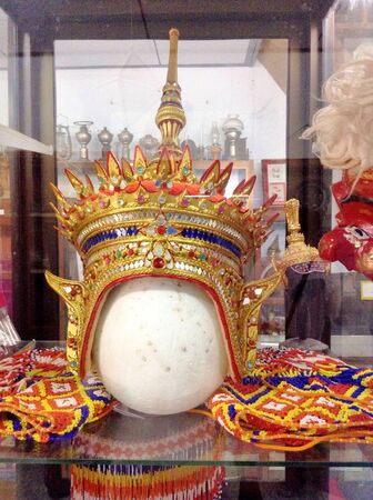 head wear: Usura Capo di Thai danza popolare