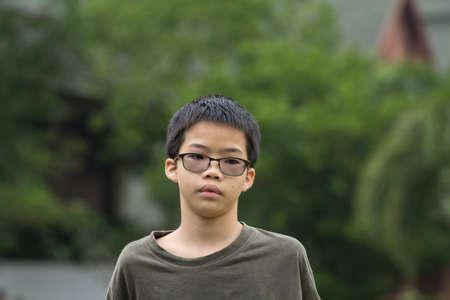 thai boy: Portrait of Thai boy
