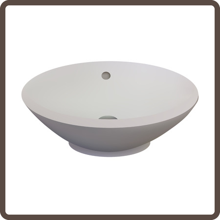 Vector illustration lavabo