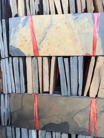 granite slab: Stack of granite slab texture Stock Photo