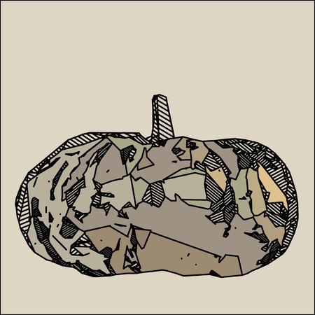 illustration: Illustration pumpkin