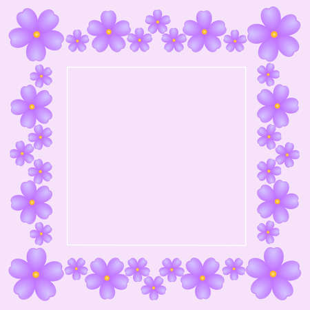 gentle: vintage gentle pink background with bright violets