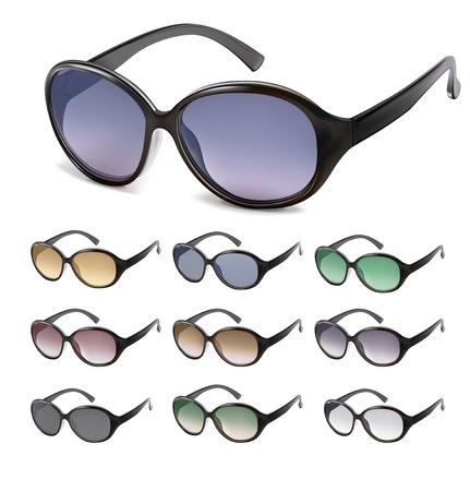 Sunglasses vector. Vector illustration