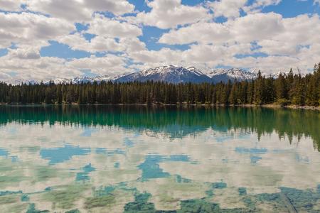 jasper: Annette Lake, Jasper National Park, Canada