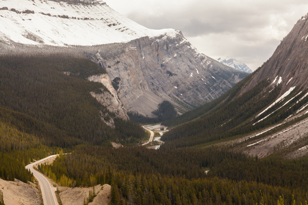 parkway: Icefield Parkway, Rocky Mountains, Canada