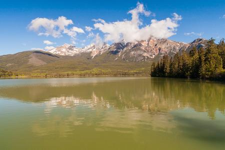 jasper: Pyramid Lake, Jasper National Park, Alberta, Canada
