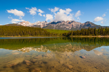 icefield: Patricia Lake, Alberta, Canada