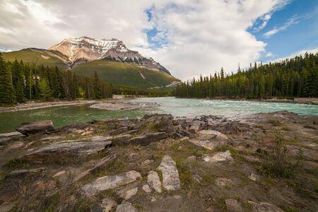 icefield: Athabasca Falls