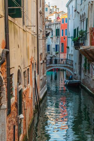 Canal in Venice, Italy Stock Photo