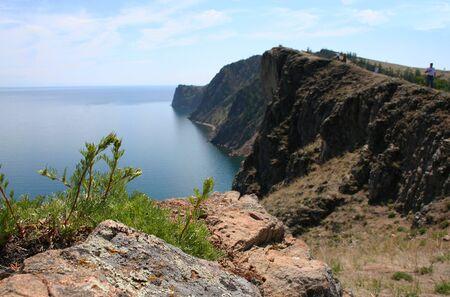 The Olkhon island, Baikal lake, Russia. photo