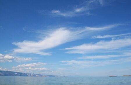 The Sarayskiy Bay of Baikal lake.