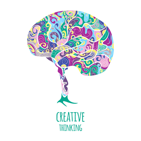 Creative thinking. Brain