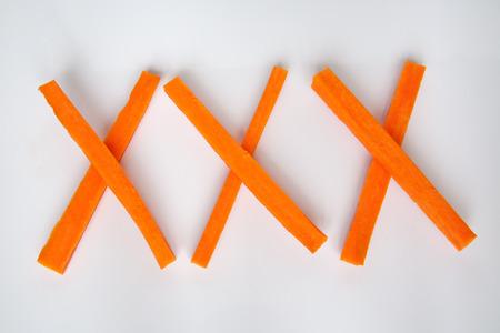 theatrics: xxx carrot Stock Photo