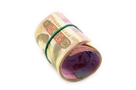 european money: european money, ukrainian hryvnia close up. uah