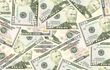 Dollars seamless background. High resolution seamless texture. photo