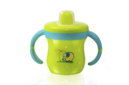 Baby bottle Stock Photo - 12662881