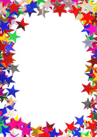 Colored stars background for your text on photo, and other. Stock Photo - 12706913