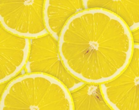 lemon slices: Sfondo astratto con agrumi di fette di limone Close-up fotografia Studio Archivio Fotografico