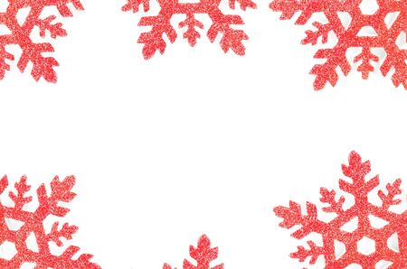 Christmas tree decoration star isolated on white background Stock Photo - 13005992