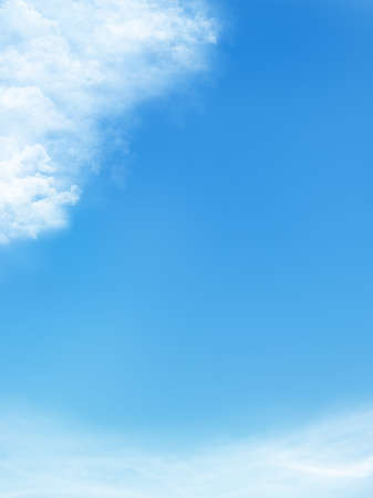 blue sky is covered by white clouds Stock Photo - 13006074