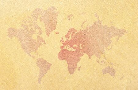 Abstract world map photo